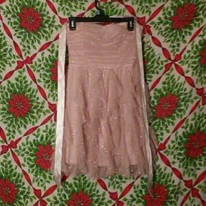 Nwot Sparkling Deb dress great for prom